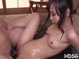 Asian pupil is getting her daily portion of penetrate, from a cohort she is in enjoy with