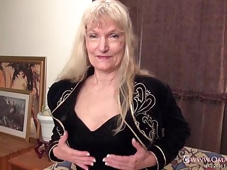 Great mature video with two hairy horny grannies compilation