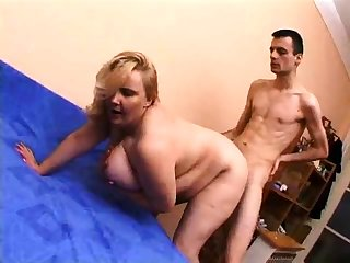 Bbw pet orgasm doggystyle