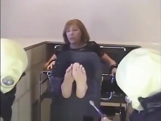 Mature Italian Soles Tickled