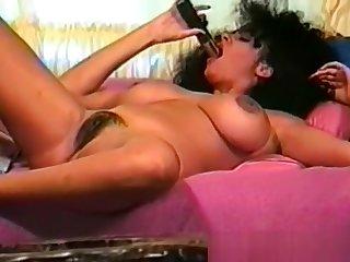 Classic Cougar Huge Tits Masturbation