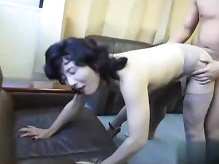 Horny sex scene Japanese show
