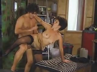 Hungarian mature whore in stockings crazy cheating sex video