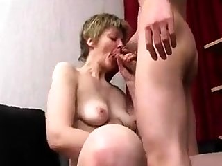 Hungry Kinky Blonde Mature Getting Her Pussy Fisted
