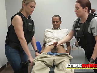 housewife police officers sucking huge black.