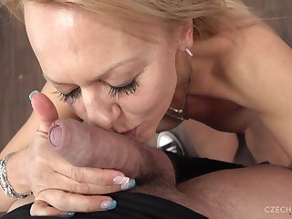 Radka comes to reveal her sex skills at the special casting