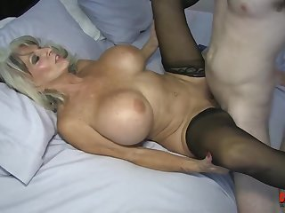 Watch Sally Dangelo Stepmom - mature bitch with big tits cum starved