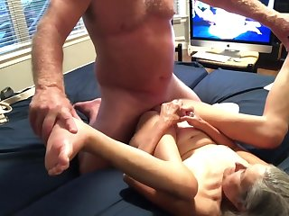 Raunchy mother I´d like to fuck Awesome Blow Facefuck Shagging ending in Big Creampie Great View