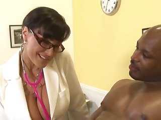 Doctor Housewife Lisa Ann and Black Dude Flash Brown