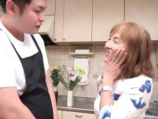 Japanese granny Asano Taeko loves having sex like when she was younger