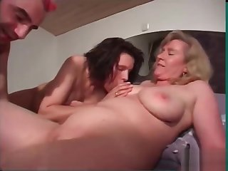 A Typical Dinner Party Turns Into A Red Hot FFM Threesome