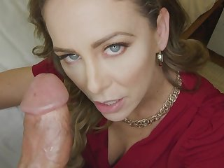 Cherie Deville gets creampied and stuffed with big penis