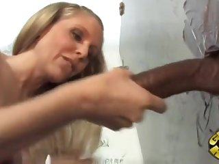 Gloryhole Action With Sex-Starved Mature Julia Ann