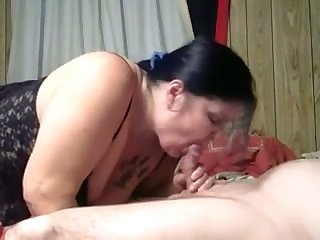 My fat hungry wife loves sucking dick and her love is timeless