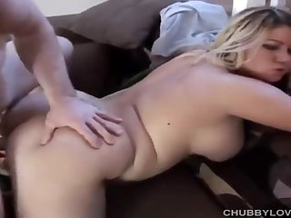 Beautiful Buxom Blonde SBBW Amy Loves Sensual Sex