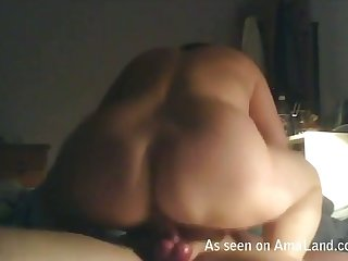 Fat alluring woman loves to facesit her fuck buddy during sex