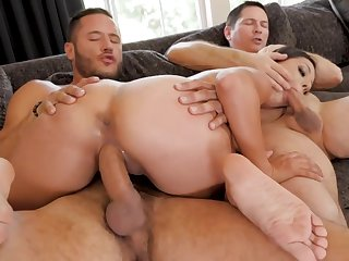 Jynx Maze Banged Hard By Two Studs