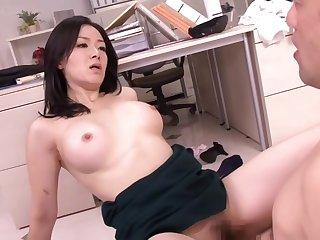 Her husband is colleague is ex boyfriend Michiru Sakura