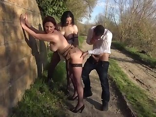 French mature bitches screwing - 3Some Sex