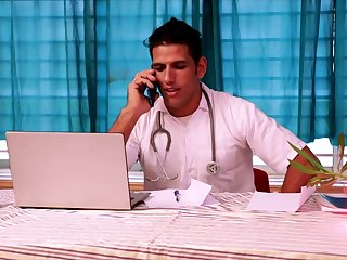 Indian Sexy Babe Fucked By Her Handsome Doctor - Busty