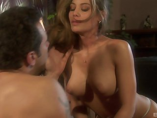 Hardcore twosome on twosome action prevalent busty MILF Ryder Skye