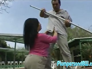 Big ass Milf Ginny doggystyle smashed outdoor while moaning