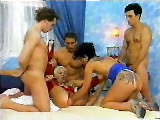 German Gangbang Porno - ANALDIN