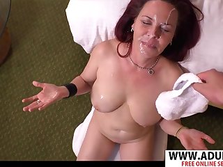 Hot MILF Dara  Hard Sex And Facial