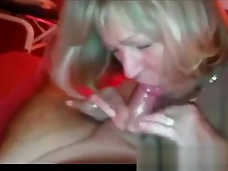 Married milf sucks dick and gets fucked