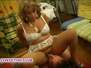 french hairy mommy femdom and young girl slave