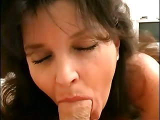 This salacious fat woman knows how to get her man ready and she fucks a lot