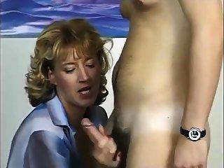 Deutsch Milf Testen eines Jungen