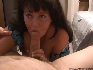Big Mature Creampie In Rear - Chubby Mom POV sex
