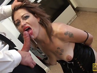 spanking and hard sex with Filthy Emma is all that horny guy needs