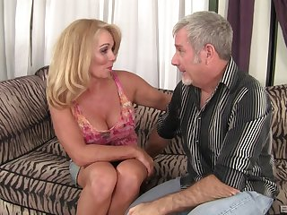 horny milf Crystal Taylor wants to reach strong orgasm with her lover