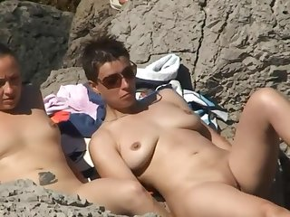 Horny Women At Nude Beach Spycam Voyeur