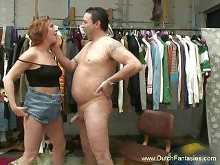 Dutch MILF Goes Hardcore Sex