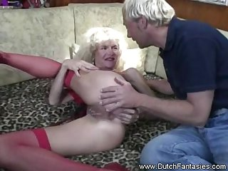 Hot intense rough sex from the amazing Dutch fantasies