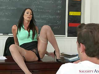 Steamy Teacher Got Laid On Desk - reagan foxx