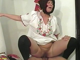 hairy 81 years old farmers wife fucked