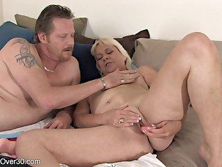 BBW granny Sindy - hardcore porn video