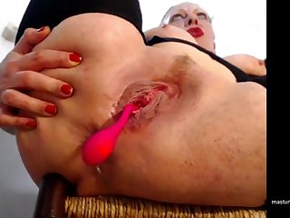 Ramona, hello, and I am happy to show you how much I enjoy anal insertions.